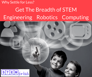 Engineering, Robotics, Biomedics and Computer Programming for kids - Get the breadth of STEM