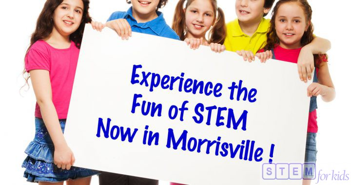 STEM For Kids offering afterschool, track out camps and workshops in Morrisville, RTP, West Raleigh