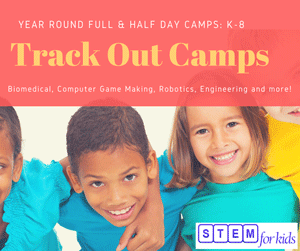 Trackout Camps for elementary and middle school students Morrisville / RTP