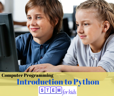 INtroduction to Python Computer Programming Language for kids